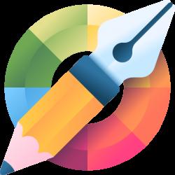 Художник Прорисовывается эскиз новой идеи и графические элементы нового дизайна - Webcentr