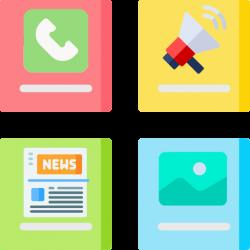 Модули - Акции - Этапы - Преимущества - Достижения - Отзывы - Обратная связь - Webcentr