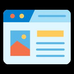 Разработка Визитки - Дизайн сайта - Первичное наполнение - SEO настройка - Регистрация в поисковиках - Webcentr
