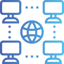 Корпоративная сеть сайтов Каждый сайт сети объединяет услугу или группу услуг с единым семантическим ядром. Таким образом корпоративная сеть сайтов  даёт увеличение общего числа посетителей сайтов компании. - Webcentr