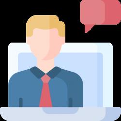 Онлайн-консультант Внешний или встроенный сервис позволяющий вести прямой диалог со специалистом компании в режиме реального времени - Webcentr